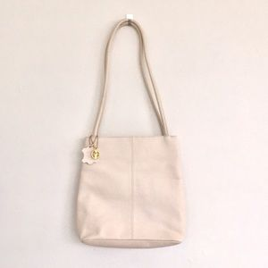 Giani Bernini shoulder real leather butter/ivory